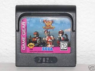 VR Troopers Sega Game Gear Game 10086025590