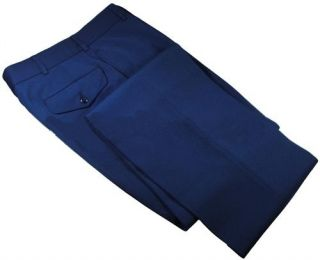 USMC Marine Corps Mens Dress Blues Uniform Trousers Pants