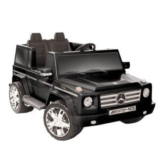 Kids Battery Powered Ride on Toy 12 V 2 Seats Seater Black Mercedes