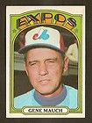 1972 Topps Baseball PSA Break Gene Mauch 276 PSA 8 NM MT