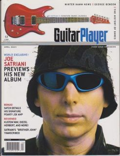 Player Magazine April 2004 Joe Satriani George Benson Mimi Fox