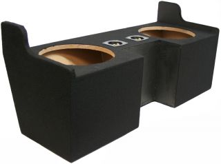 Custom GMC Canyon 04 12 Ext Cab Truck Dual 10 Subwoofer Bass Speaker