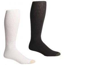 Gold Toe Mens Cotton Crew Socks Athletic 3 Pack 513 H