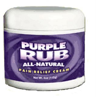 Purple Emu Purple Rub All Natural Pain Relief Cream 30 Emu Oil