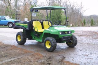 Deere Gator Model TX Utility Vehicle Electric Dump Farm Canopy