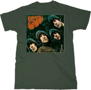 Rubber Soul Album Cover T Shirt John Paul George Ringo M XL