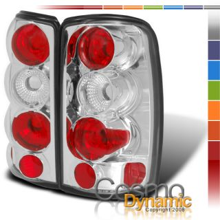 00 06 GMC Yukon Denali Yukon XL Chrome Tail Lights L R