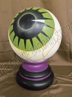 Grandinroad Halloween Prop Optometrist Gazing Eye Eyeball stand
