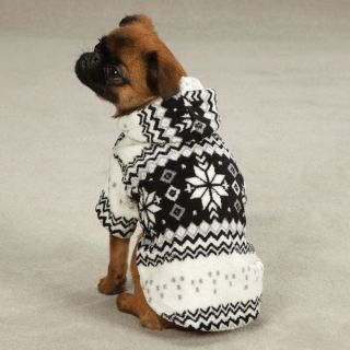 mini dachhund brussels griffon DOG COAT JACKET FLEECE clothes BLK