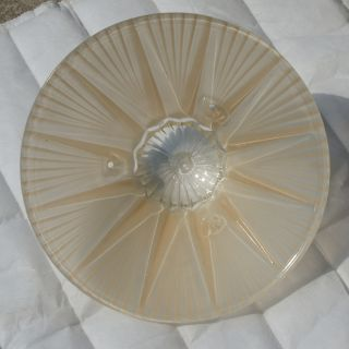 10 Art Deco Glass Ceiling Light Shades Peach