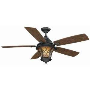 Hampton Bay Veranda II 52 Indoor Outdoor Ceiling Fan