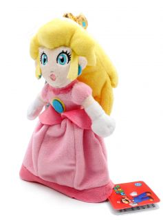 Authentic Brand New Global Holdings Super Mario Plush  8 Princess