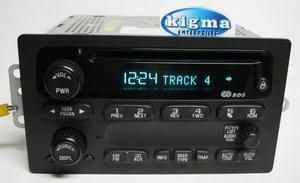 GMC Blazer Jimmy Sonoma S10 S15 2002 2003 CD Player 15091316 RDS