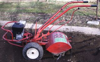 Nice Troybilt Horse Rear Tine Tiller New Briggs 6 HP Motor and Tines