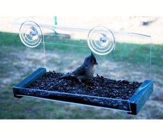 Window Bird Feeder Greenhouse