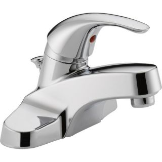Delta Lahara Centerset Bathroom Faucet with Double Lever Handles