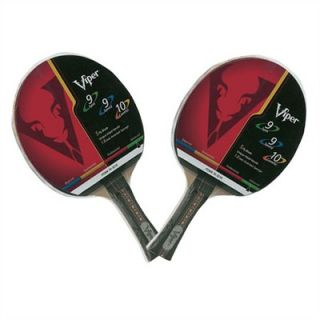 Viper 9 9 10 Table Tennis Paddle 2 Pack