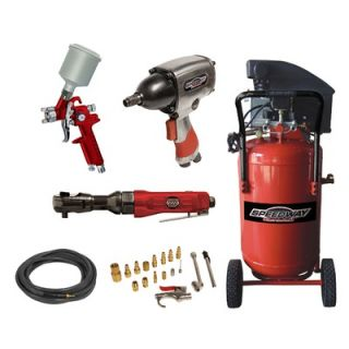 SPEEDWAY 15 Gallon Vertical Air Compressor Kit