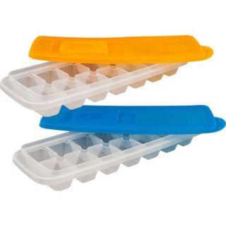 Chef Buddy Ice Cube Tray with Lid (Set of 2)   82 Y3434