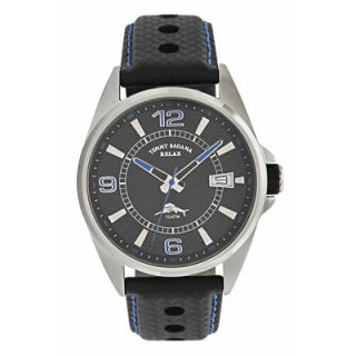 Tommy Bahama Relax Mens Tiki Bay Relax Watch in Black and Royal Blue