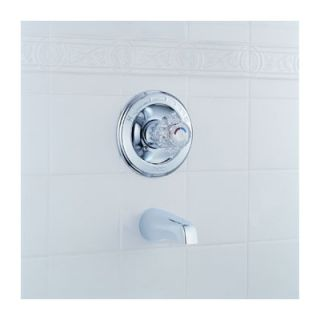 Delta Classic Single Handle Wall Mount Pressure Balanced Tub Only