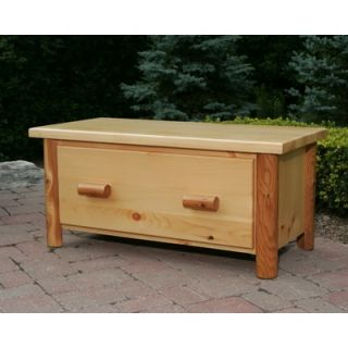 Moon Valley Rustic Nicholas Collection Toy Chest / Blanket Box