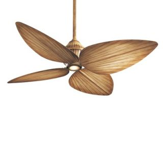 Minka Aire 52 Gauguin Tropical 4 Blade Indoor / Outdoor Ceiling Fan
