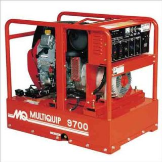 Multiquip Recoil or Electric Start 9700 Watt Honda GX610 Portable