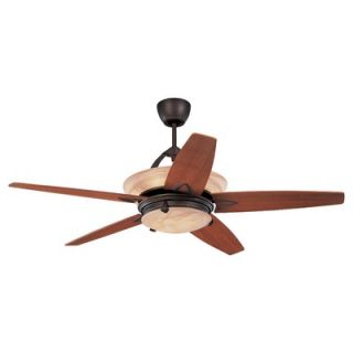 Monte Carlo Fan Company 60 Arch 5 Blade Ceiling Fan with Remote