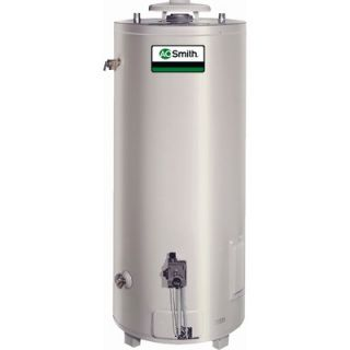 Smith Commercial Tank Type Water Heater Nat Gas 74 Gal