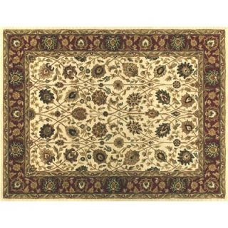 Loloi Rugs Oak Ivory/Red Rug   MAPLMP 27IVRE