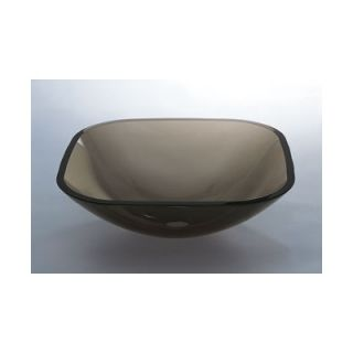 Ronbow Square Glass Vessel Sink   420520 L5