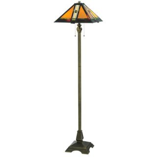 Warehouse of Tiffany White Mission Style Table Lamp