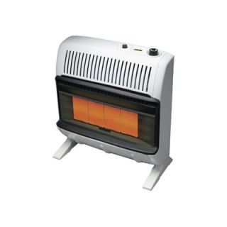 Mr. Heater 30000 BTU Natural Gas Radiant Vent Free Wall Mount Heater