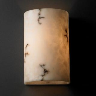 Justice Design Group LumenAria Two Light Wall Sconce with Faux