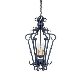 World Imports Lighting Bristol Candle Pendant in Antique Oak   8209