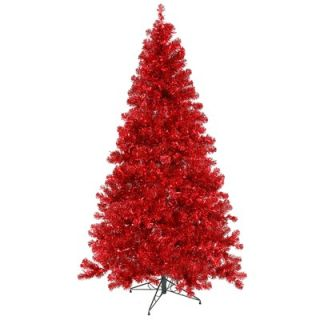 Vickerman 8 Artificial Christmas Tree in Red