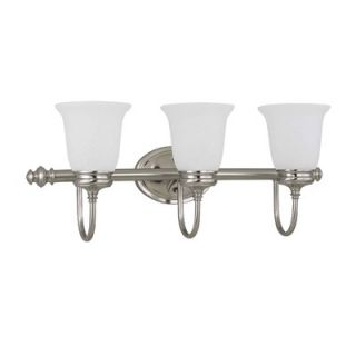 Nuvo Lighting Salem Vanity Light in Brushed Nickel