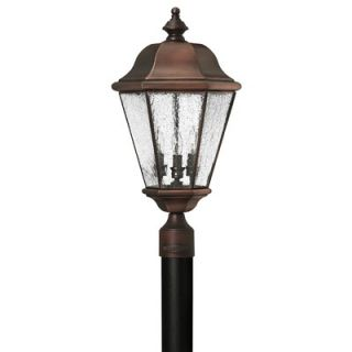 Hinkley Lighting Clifton Beach Post Lantern in Antique Copper