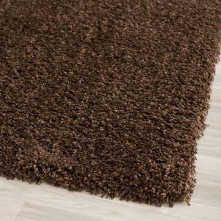 Safavieh California Shag Brown Rug   SG151 2727