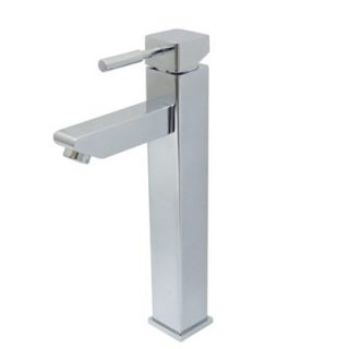 Elements of Design Single Hole Vessel Sink Faucet with Single Lever