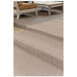 Dash and Albert Rugs Woven Diamond Charcoal/Taupe Rug