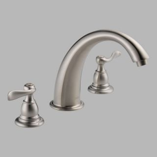 Delta Foundations Windemere Double Handle Deck Mount Roman Tub Faucet