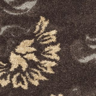 Safavieh Florida Shag Dark Brown/Smoke Rug   SG463 2879