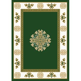 Home Dynamix Premium Hunter Green Rug   7114 402