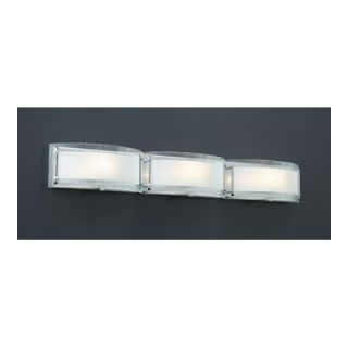PLC Lighting Millennium Vanity Light in Polished Chrome   7836