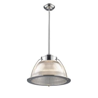 Landmark Lighting Halophane 1 Light Pendant   60004 1/60014 1