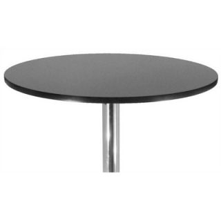 Winsome 28 Round Pub Table with Chrome Leg