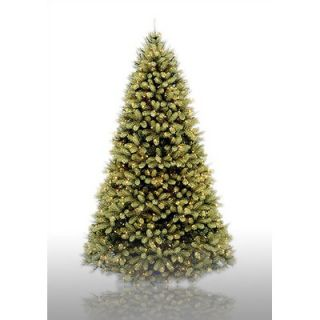 National Tree Co. 9 Prelit Douglas Fir Artificial Christmas Tree with