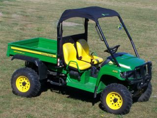 John Deere Gator Soft Roof Rear Panel Combo HPX XUV